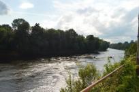rivière Dordogne en aval du barrage