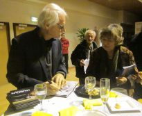 Prix FME 2017 : Yann Arthus-Bertrand et Annie Wolff, présidente des Rives de l'Art