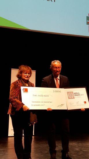 Annie Wolff et Alain Pennel, trésorier du FME