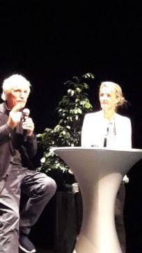 Prix FME 2017 : Yann Arthus-Bertrand répond aux questions des spectateurs ; avec Raphaëlle Burel, journaliste