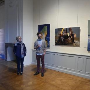 2018 visite de l'exposition au château de biron