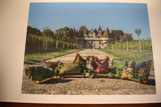 2018 exposition de Vincent Olinet au château de Monbazillac ©Hugues