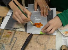 2018 Atelier « gravure » avec Rosario NAISSANT-MARRERO (7)