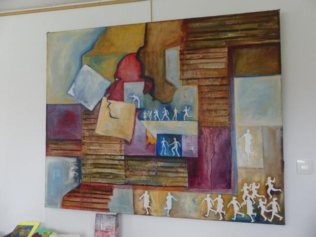 2019 visite de l'atelier de Rosario MARRERO (16)
