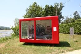 Hortus gardinus, Johann Bernard/Suzanne HUSKY... et la Tinbox mobile #5 ; photo Les Rives de l'Art
