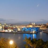 2019 Marseille, la nuit ,vue depuis l'esplanade du Pharo, (1)