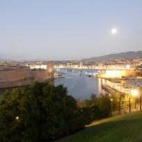2019 Marseille, la nuit ,vue depuis l'esplanade du Pharo, (2)
