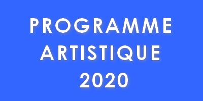 Programme artistique 2020