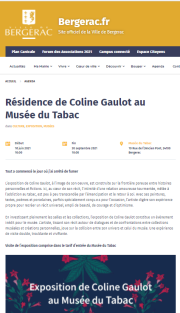 2021 Residence Coline Gaulot Musee Tabac Bergerac
